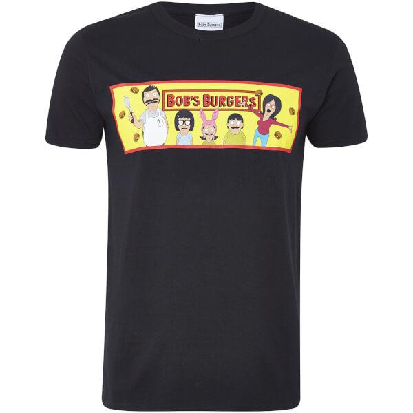 Bob's Burgers Men's T-Shirt - Black