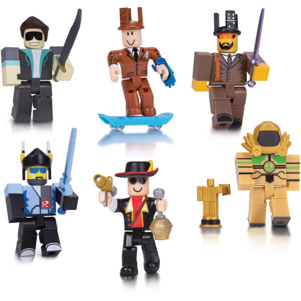 ROBLOX Legends Of ROBLOX 6 Pack Figures Toys
