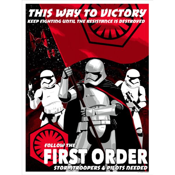 Star Wars - This Way to Victory Print by Brian Miller (457mm x 610mm)