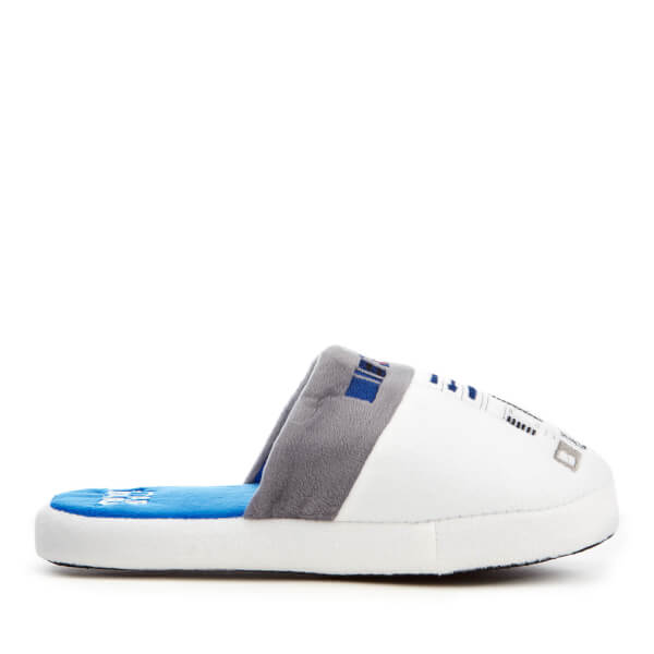 Star Wars Men's R2-D2 Slippers - White