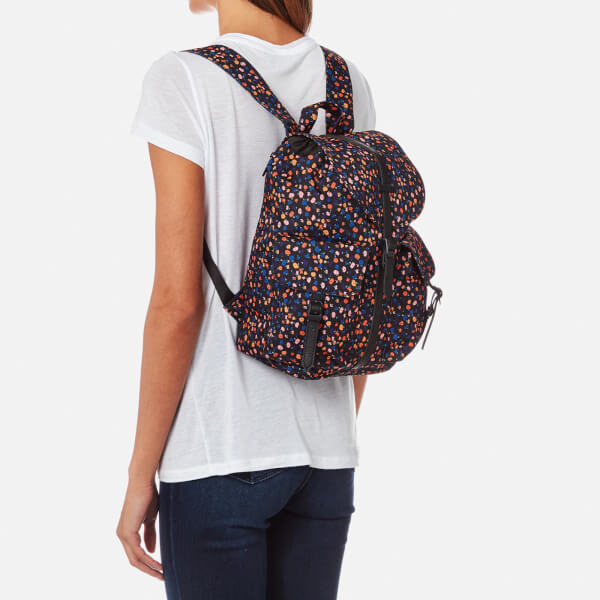 134ff40e57 Herschel Supply Co. Women s Dawson Xtra Small Backpack - Black Mini Floral   Image 3