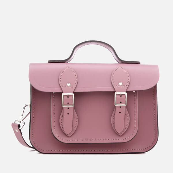 The Cambridge Satchel Company Women's 11 Inch Batchel - Dark Blush: Image 01