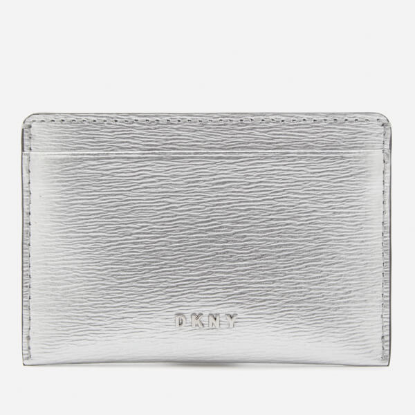 DKNY Women's Bryant Card Holder - Dark Silver
