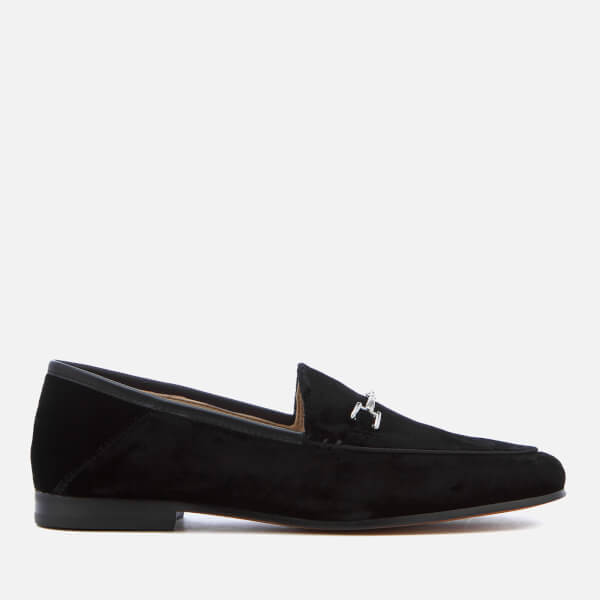 Sam Edelman Women's Loraine Velvet Loafers - Black