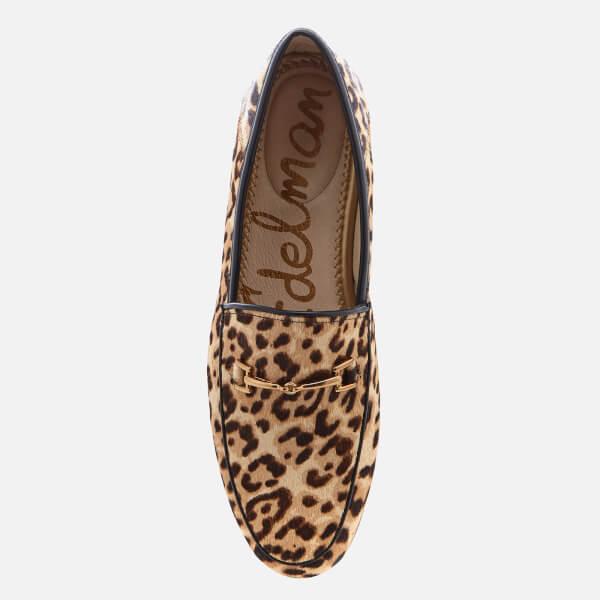 e939a4c4142 Sam Edelman Women s Loraine Suede Loafers - Leopard  Image 3