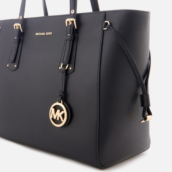 Michael Kors Women S Voyager Medium Tote Bag Black Image 4