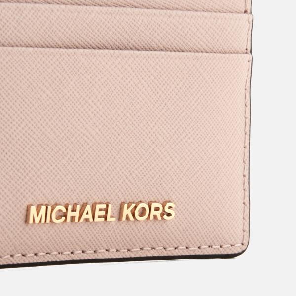 b517ae72e424ea MICHAEL MICHAEL KORS Women's Money Pieces Card Holder - Soft Pink: Image 2