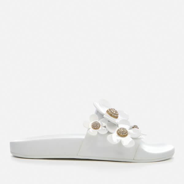 Marc Jacobs Women's Daisy Pave Aqua Slide Sandals - - EU 38/UK 5 H0G0j26