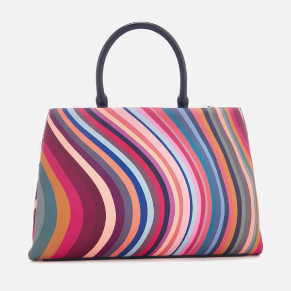 b30dabd9eb51 Paul Smith Women s Top Handle Swirl Tote Bag - Multi  Image 2