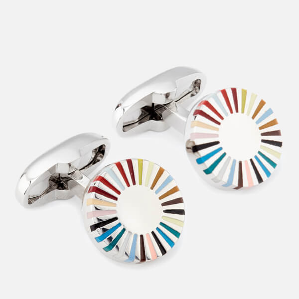 Paul Smith Men's Multi Stripe Cufflinks - Stripe