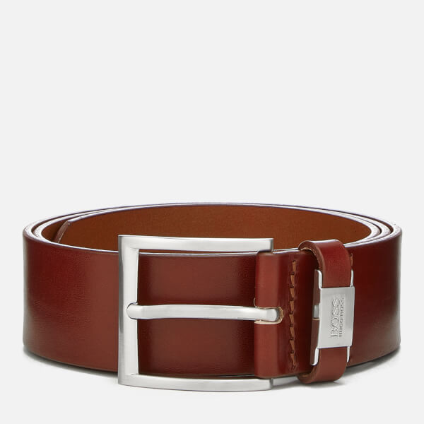BOSS Black Men's Connio Belt - Medium Brown
