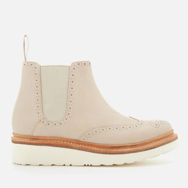 Grenson Women's Alice Leather Chelsea Boots - Natural