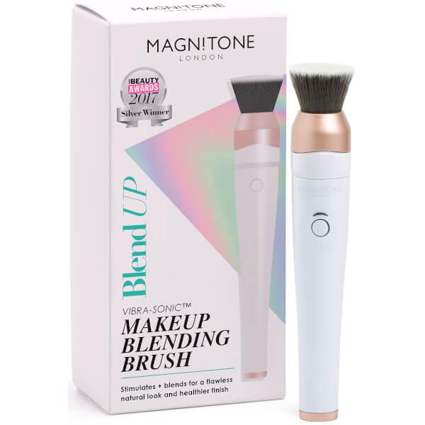 Magnitone BlendUp! Vibra-Sonic Make Up Brush - White