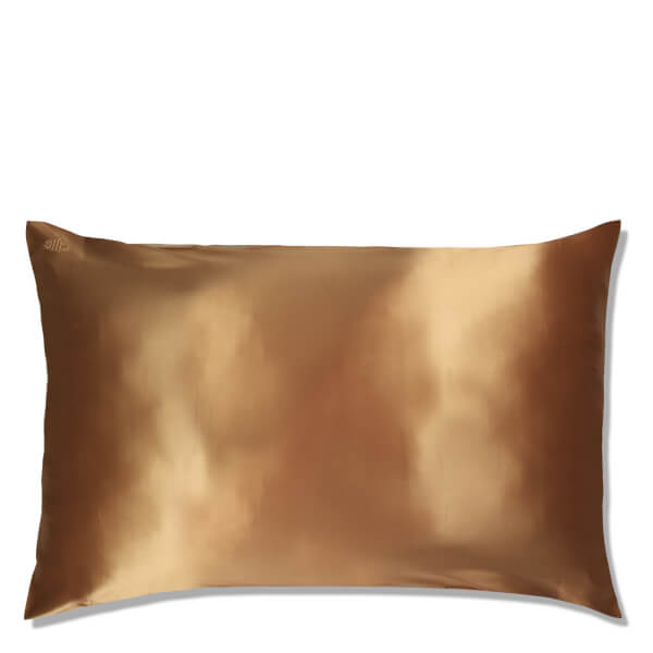 Slip Silk Pillowcase - Queen - Gold