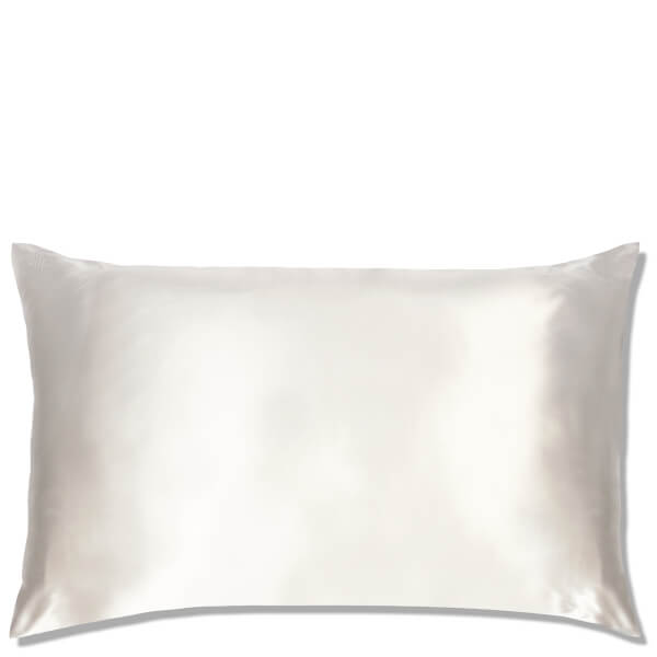 Satin Pillowcase Prevent Hair Loss: Slip Silk Pillowcase King - White