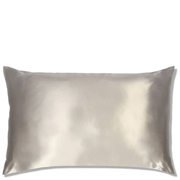 Slip Silk Pillowcase King - Silver