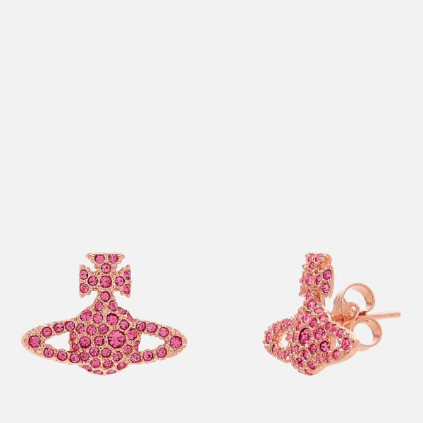 Vivienne Westwood Women's Grace Br Stud Earrings - Rose Crystal
