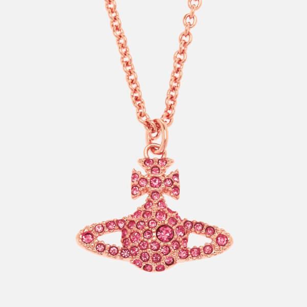 Vivienne Westwood Women's Grace Br Pendant Necklace - Rose Crystal