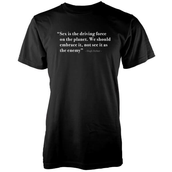 Driving Force Of The Planet Black T-Shirt