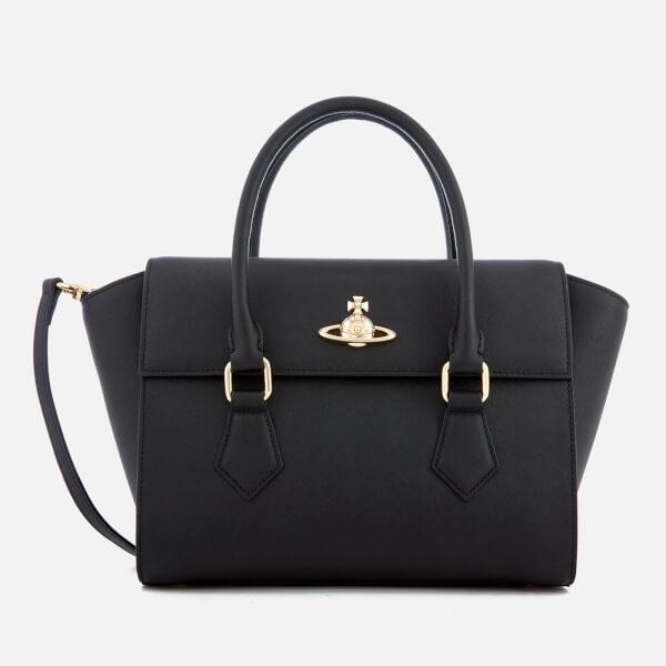 Vivienne Westwood Women's Pimlico Medium Handbag - Black