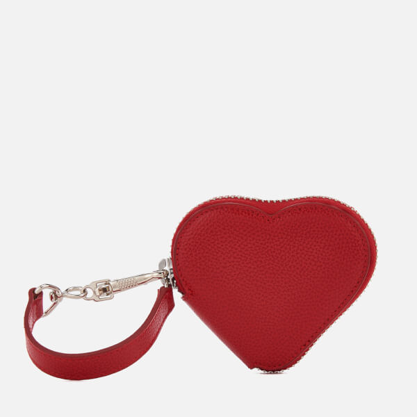 Vivienne Westwood Women's Johanna Heart Coin Case - Red