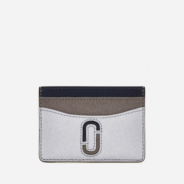 Marc Jacobs Women's Card Case - Silver/Multi