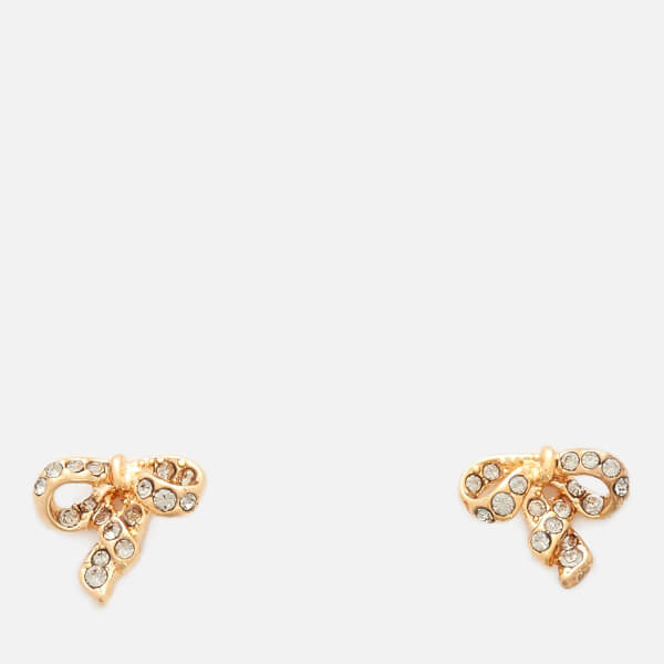 Marc Jacobs Women S Mj Coin Bow Studs Gold Image 1