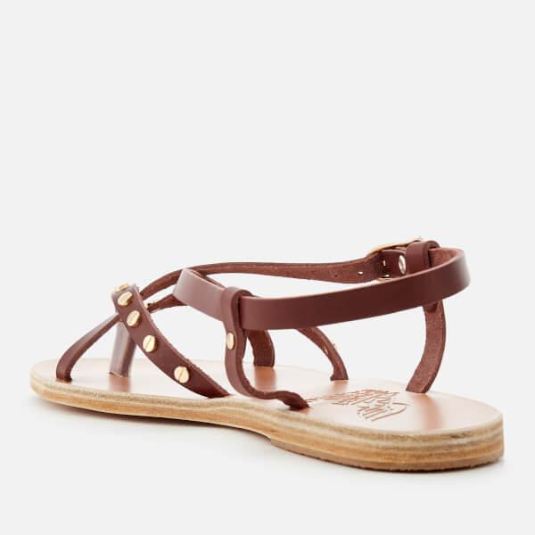 Ancient Greek Sandals Women's Semele Nails Sandals - Chestnut - UK 3 YCggO