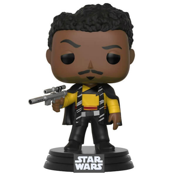 Star Wars Solo Lando Pop Vinyl Figure Merchandise Zavvi