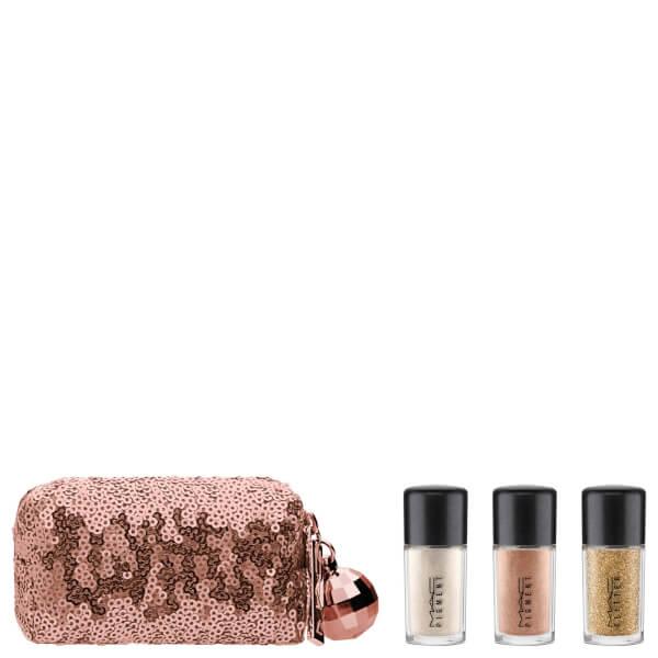 MAC Snow Ball Pigment & Glitter Kit - Gold