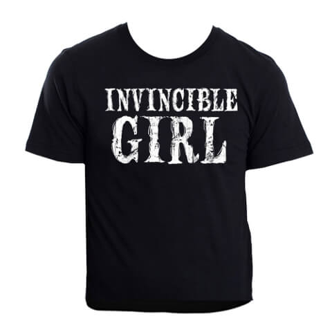 Invincible Girl Women's T-shirt