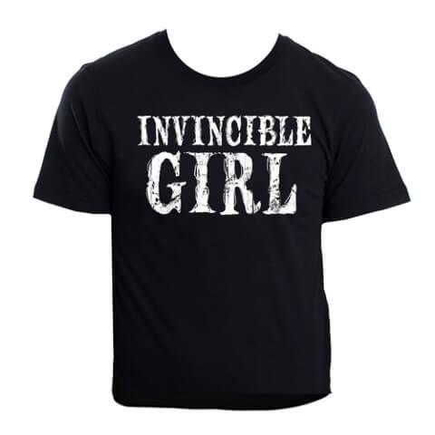 Invincible Girl Men's T-Shirt