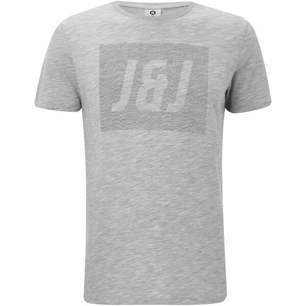 Jack & Jones Men's Core Toby T-Shirt - Light Grey Marl