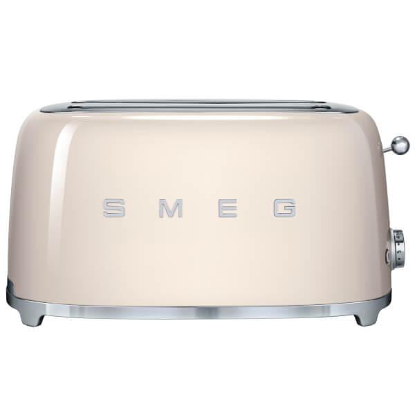 smeg tsf02cruk 4 slice toaster cream iwoot. Black Bedroom Furniture Sets. Home Design Ideas