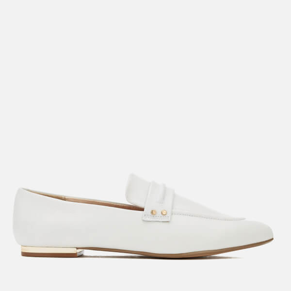 Kurt Geiger London Women's Kilma Leather Loafers - White