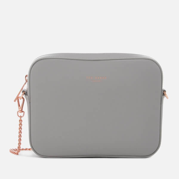 Ted Baker Women's Laney Chain Strap Camera Bag - Light Grey