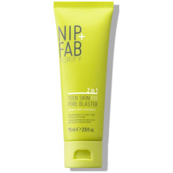 NIP + FAB Teen Skin Fix Pore Blaster 2-in-1 Scrub/Mask 75ml