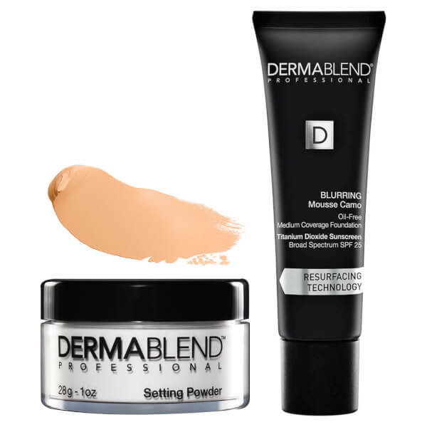 Dermablend Acne Foundation Set - 40W Sahara