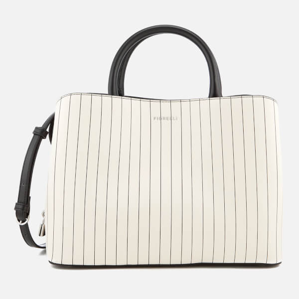 fiorelli women 39 s bethnal triple compartment tote bag pin stripe mix bekleidung. Black Bedroom Furniture Sets. Home Design Ideas
