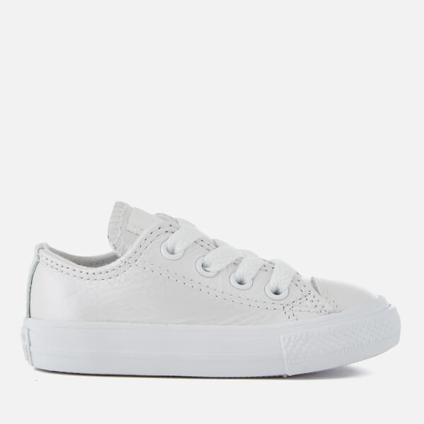 5ec8aec9da50a2 Converse Toddlers  Chuck Taylor All Star Ox Trainers - White White White