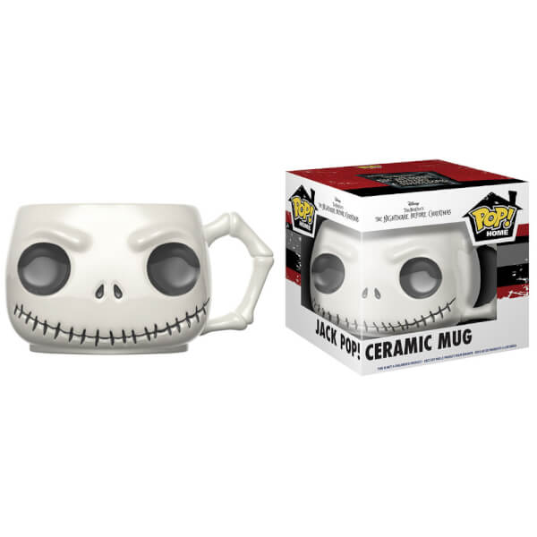 The Nightmare Before Christmas Jack Pop! Home Mug Merchandise ...