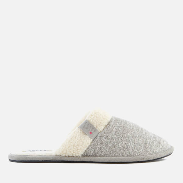 Superdry Women's Marl Mule Slippers - Sleepy Mid Grey