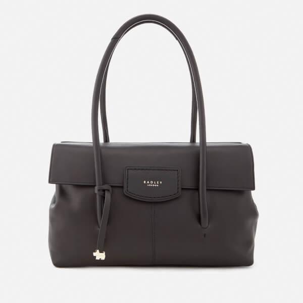 Radley Women's Burnham Beeches Large Flapover Shoulder Bag - Black