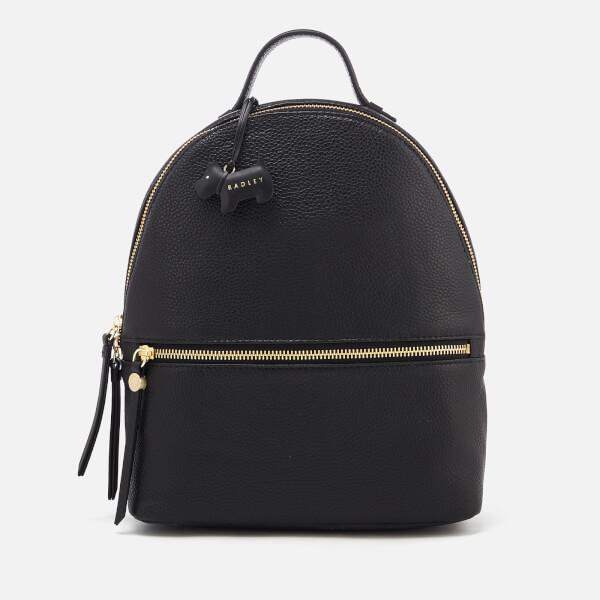 Radley Women's Fountain Road Medium Ziptop Backpack - Black