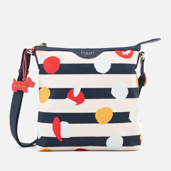 Radley Women's On The Dot Medium Ziptop Cross Body Bag - Petrol