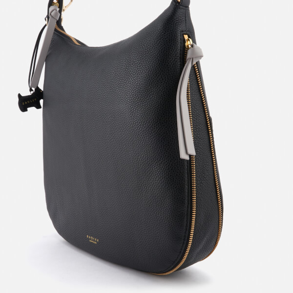 4e530f80606b Radley Women s Pudding Lane Large Ziptop Hobo Bag - Black Womens ...