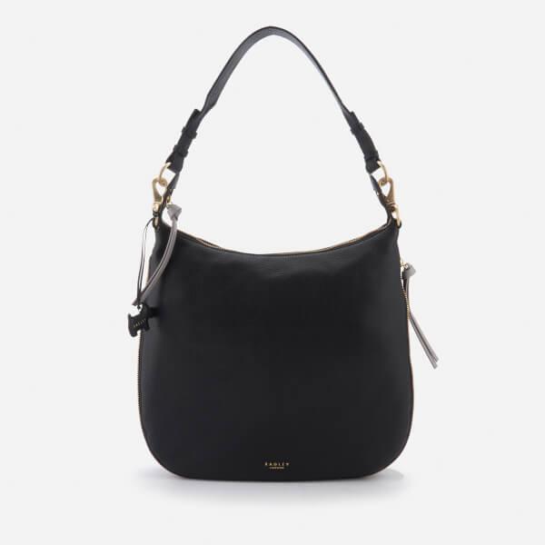 Radley Women's Pudding Lane Large Ziptop Hobo Bag - Black