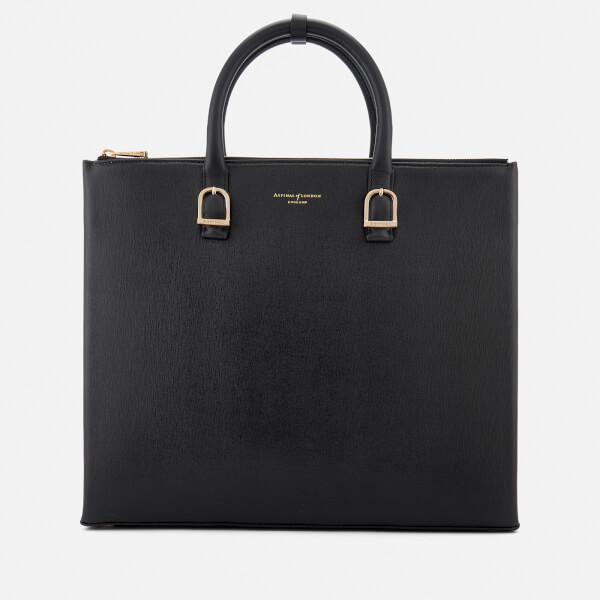 Aspinal of London Women's Editor's Tote Bag - Black