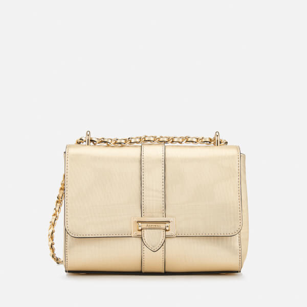 Aspinal of London Women s Lottie Bag - Gold - Free UK Delivery over £50 65a3773642