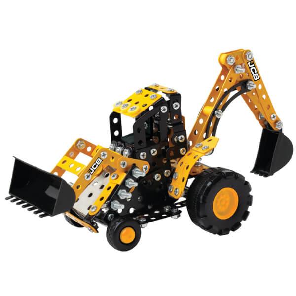 jcb backhoe loader gt construction set toys thehut com